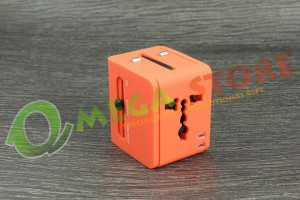 Souvenir promosi travel adapter TAS004