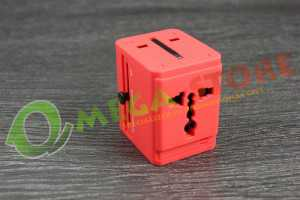 Souvenir promosi travel adapter TAS003